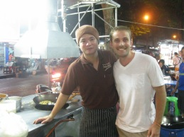 This guy seriously makes the BEST pad thai ever.