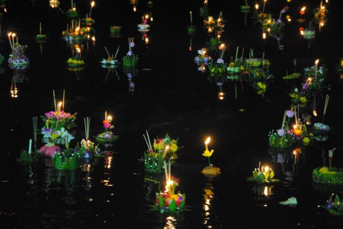 New friends, and new holidays. Learn about Loy Krathong holiday here!