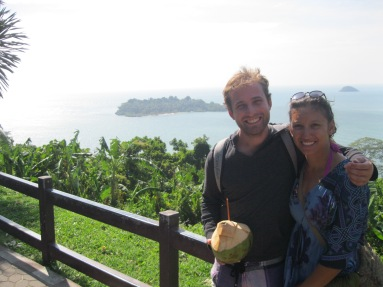 Awesome viewpoint. Koh Chang.
